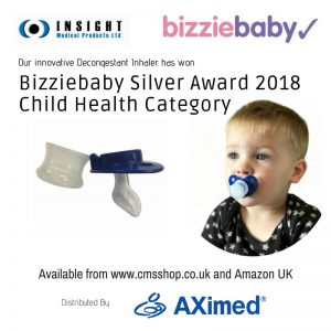 Bizziebaby Silver Award 2018 Child Health Category